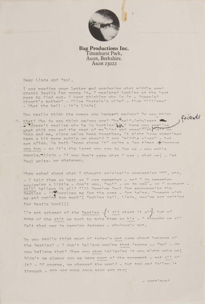 John-Lennon-letter-Paul-nasty 1